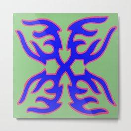Abstract Designz - 17 Metal Print