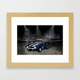 camaro ss Framed Art Print