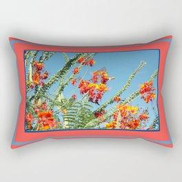 Ocotillo Blooms Rectangular Pillow