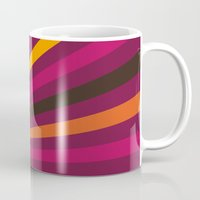 1d Mugs featuring Rays 1d by Patterns of Life