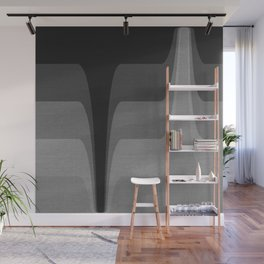 Shades of black elegant  #pattern Wall Mural