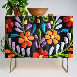 Mexican Flowers Credenza