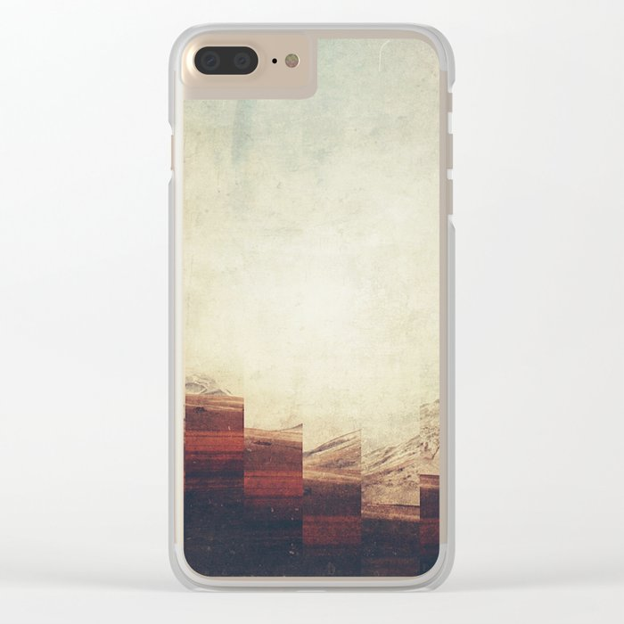 Fractions A90 Clear iPhone Case
