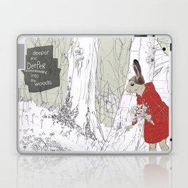 Deeper into the Woods Laptop & iPad Skin