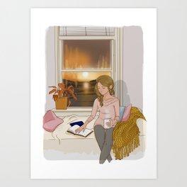 Loves me not (autumn) Art Print