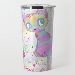 Mystical Little Kitty Travel Mug