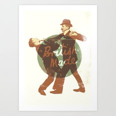 British Made Art Print