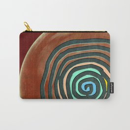 Tribal Maps - Magical Mazes #02 Carry-All Pouch