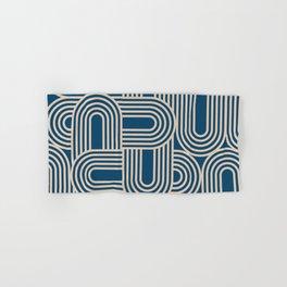 Abstraction_WAVE_GRAPHIC_VISUAL_ART_Minimalism_001 Hand & Bath Towel