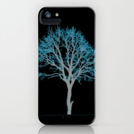 Electric Tree 02 iPhone Case