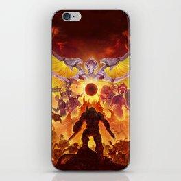 Doom Eternal game iPhone Skin