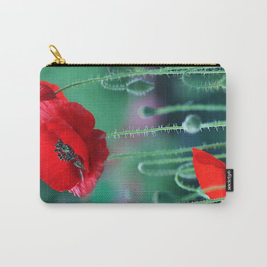 Poppies (light)2. Carry-All Pouch