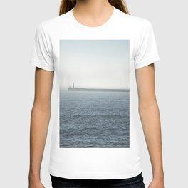 Fog on the beach T-shirt