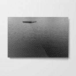 Gone Swimmin' Metal Print