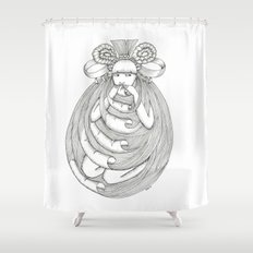 Comfort food Shower Curtain