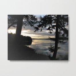 Pointe Sunset 17 Metal Print