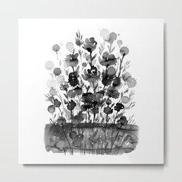 Floral Charm No.1M by Kathy Morton Stanion Metal Print