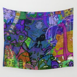 MULTIVERSE MURAL Wall Tapestry
