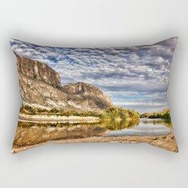 Rio Grande River Rectangular Pillow