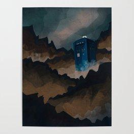TARDIS in Trenzalore Poster