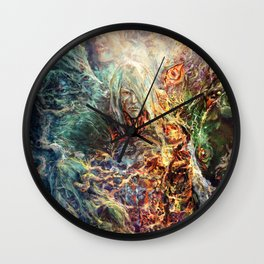 Memoryhouse Ghosts Wall Clock