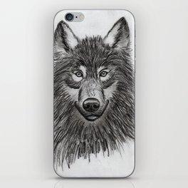 Wolf // #ScannedSeries iPhone Skin