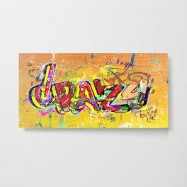 Grazy - Graffiti Metal Print