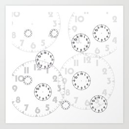 Time For Time  Art Print