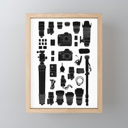 Photographer Kit Framed Mini Art Print