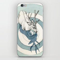tired of being here iPhone & iPod Skin