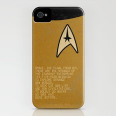 Space: The Final Frontier... Slim Case iPhone (4, 4s)