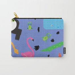 Zoo Animals Carry-All Pouch