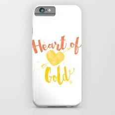 Heart of Gold script iPhone 6s Slim Case