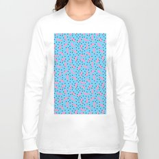 Pink Banana Peel on Baby Blue /// www.pencilmeinstationery.com Long Sleeve T-shirt