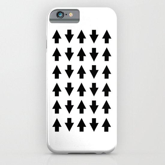 Arrows Black iPhone & iPod Case