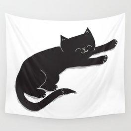 Happy Kitty Wall Tapestry