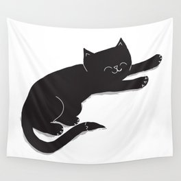 Happy Kitty Wall Tapestry