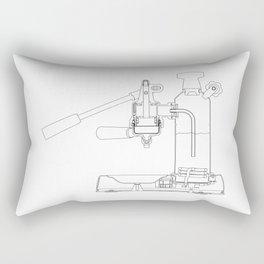 La Pavoni Lever Espresso Machine Rectangular Pillow