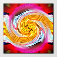 Crazy Carl's Swirl 1 Canvas Print