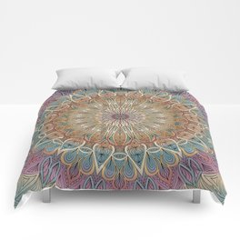 Gentle Touch Mandala Art Comforters