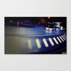 Dusty Needle Canvas Print