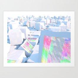 Cluttered Art Print