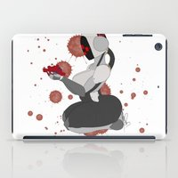 robot iPad Cases featuring Robot by Aeternial