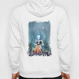 Skelly by the Campfire Hoody