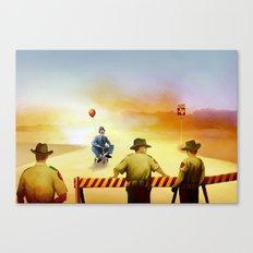 texas exile Canvas Print