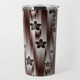 metal flower Travel Mug