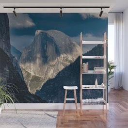 Half Dome Sunset 10-2-18 Wall Mural