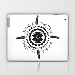 Native Amrican STEM Mandala Southwestern Laptop & iPad Skin