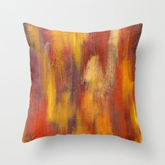 Salty Crude Oil Throw Pillow