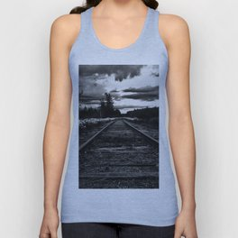 Historic Infrastructure in Disuse and Disrepair Unisex Tank Top
